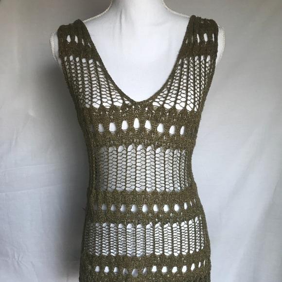 Jennifer Lopez Swim Crochet Bathing Suit Coverup Poshmark